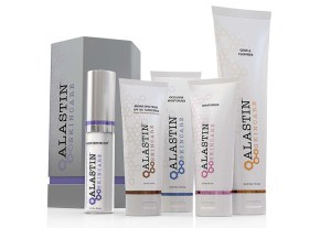 Image of the Alastin Skincare product line