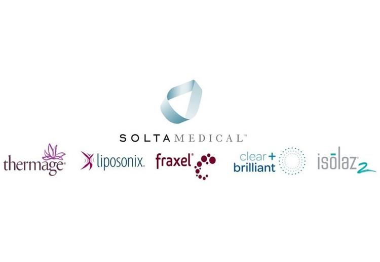 Solta Medical logo and partnered logos