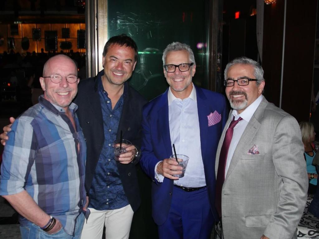 r. Steven J. Pearlman and Dr. Kamran Khoobehi at VCS Aesthetic Everything Hyde Event