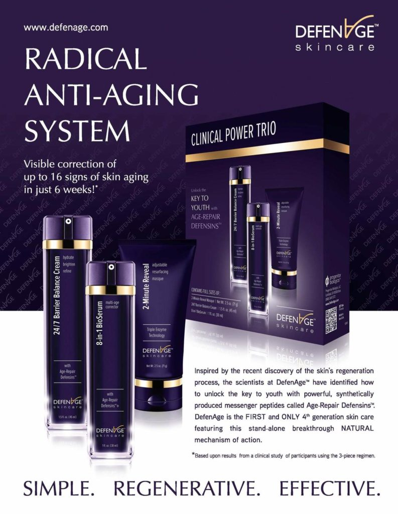 Defenage The Future Of Skin Care Beauty Wire Magazine