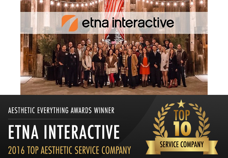Etna Interactive Named Among Top 10 Aesthetic Service Companies
