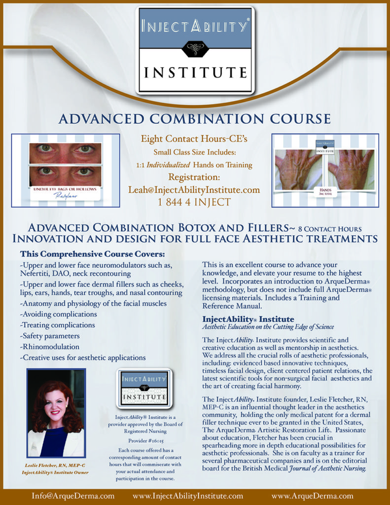 InjectAbility Institute Advanced Combination Course