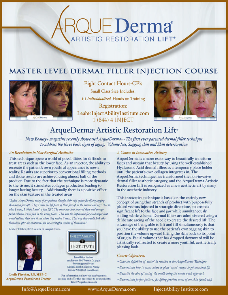 InjectAbility Institute Filler Injection Course
