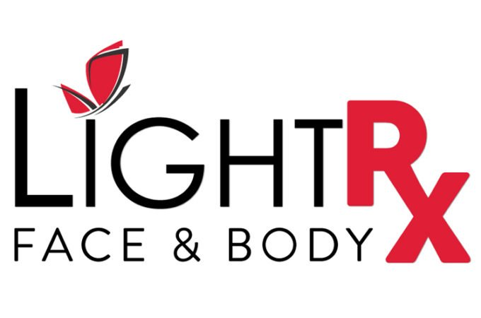 Light Rx Face & Body Logo