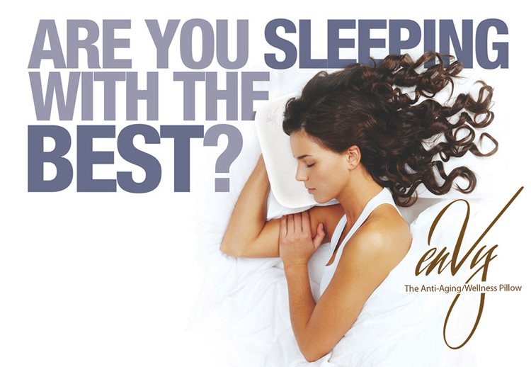 enVy Pillow: Anti Aging and Wellness Pillow