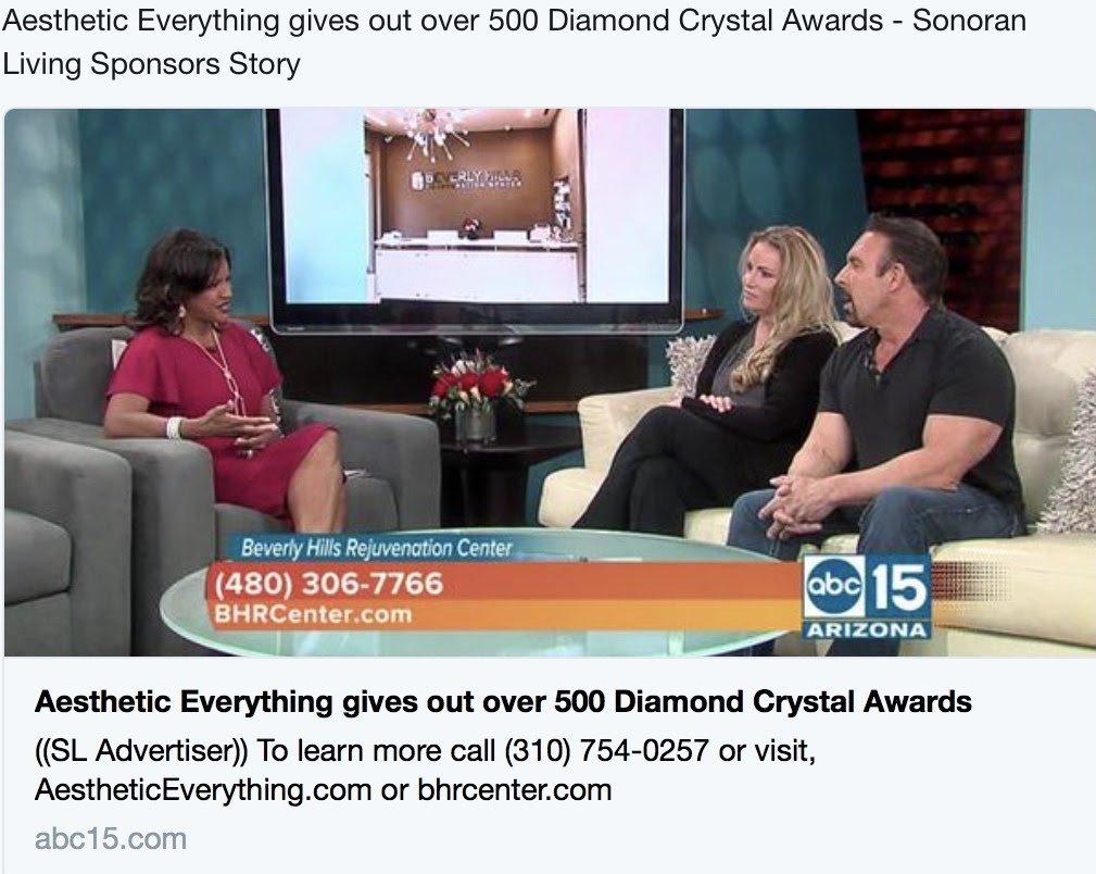 Beverly Hills Rejuvenation Center/Dan Holtz and Vanessa Florez/Aesthetic Everything on ABC 15