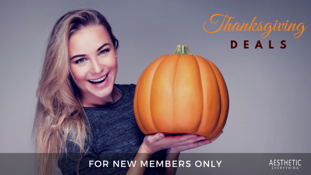 Aesthetic Everything Thanksgiving Membership Deals Start Now!