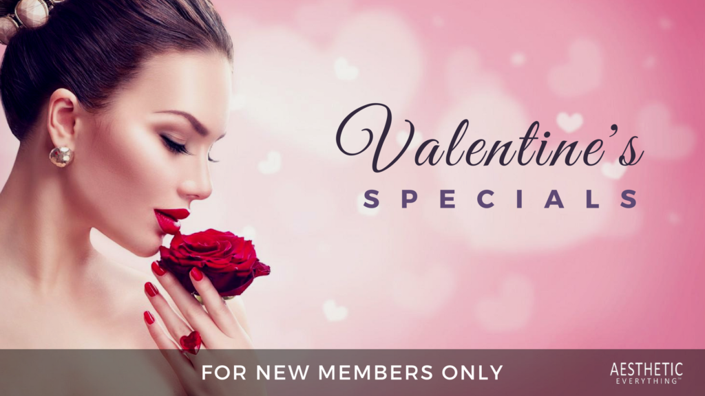 Aesthetic Everything® Beauty Network Presents: Valentines Specials – Claim Your Listing!