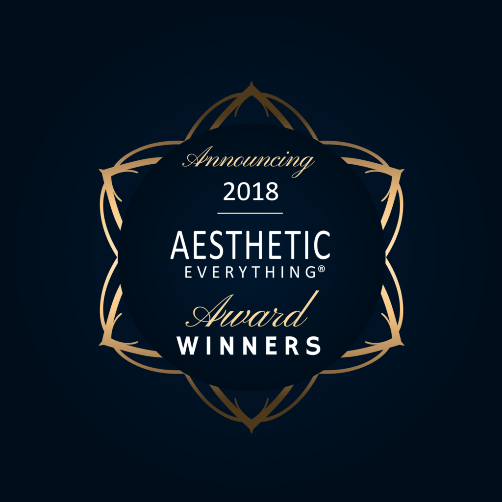 Aesthetic Everything® Announces the Winners in the 2018 Aesthetic and Cosmetic Medicine Awards