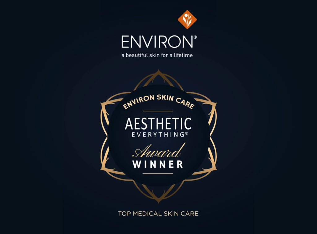 "PRESS RELEASE: Environ® Skin Care Receives 2018 ""Top Medical Skin Care"" Aesthetic Everything® Aesthetic and Cosmetic Medicine Award"