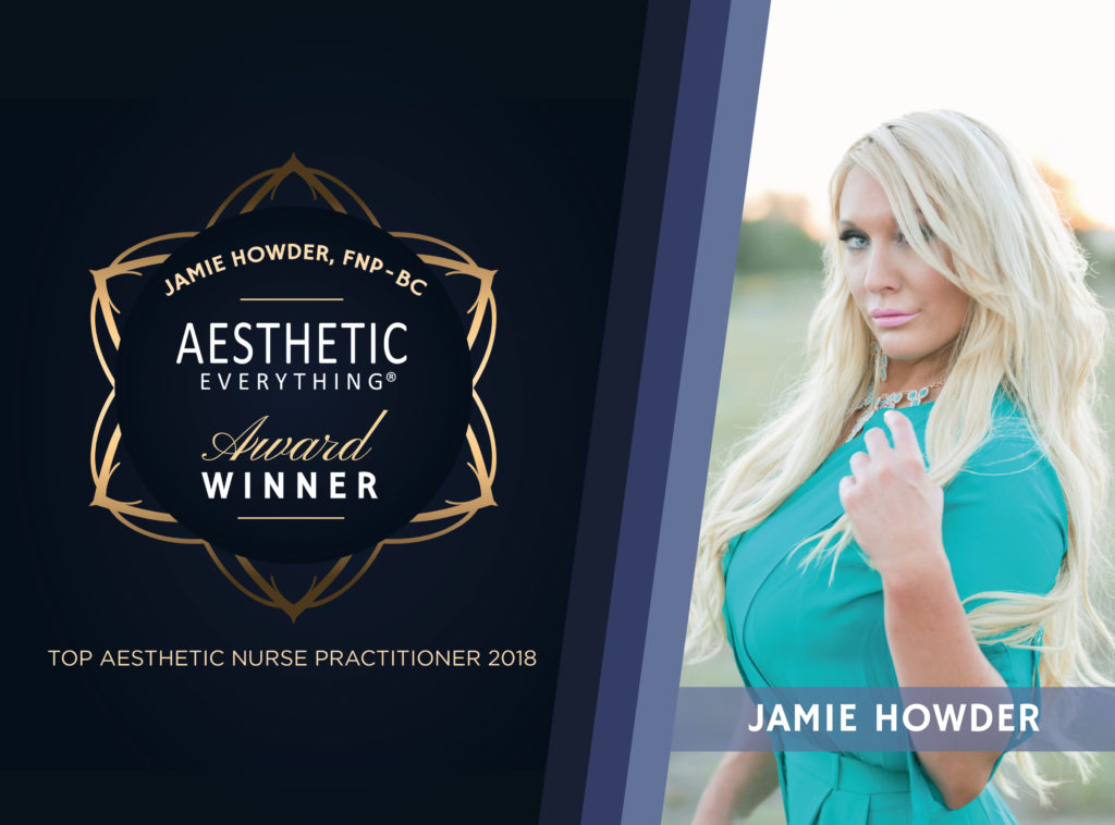 PRESS RELEASE: Nurse Practitioner Jamie Howder Receives Repeat Aesthetic Everything® Aesthetic and Cosmetic Medicine Award
