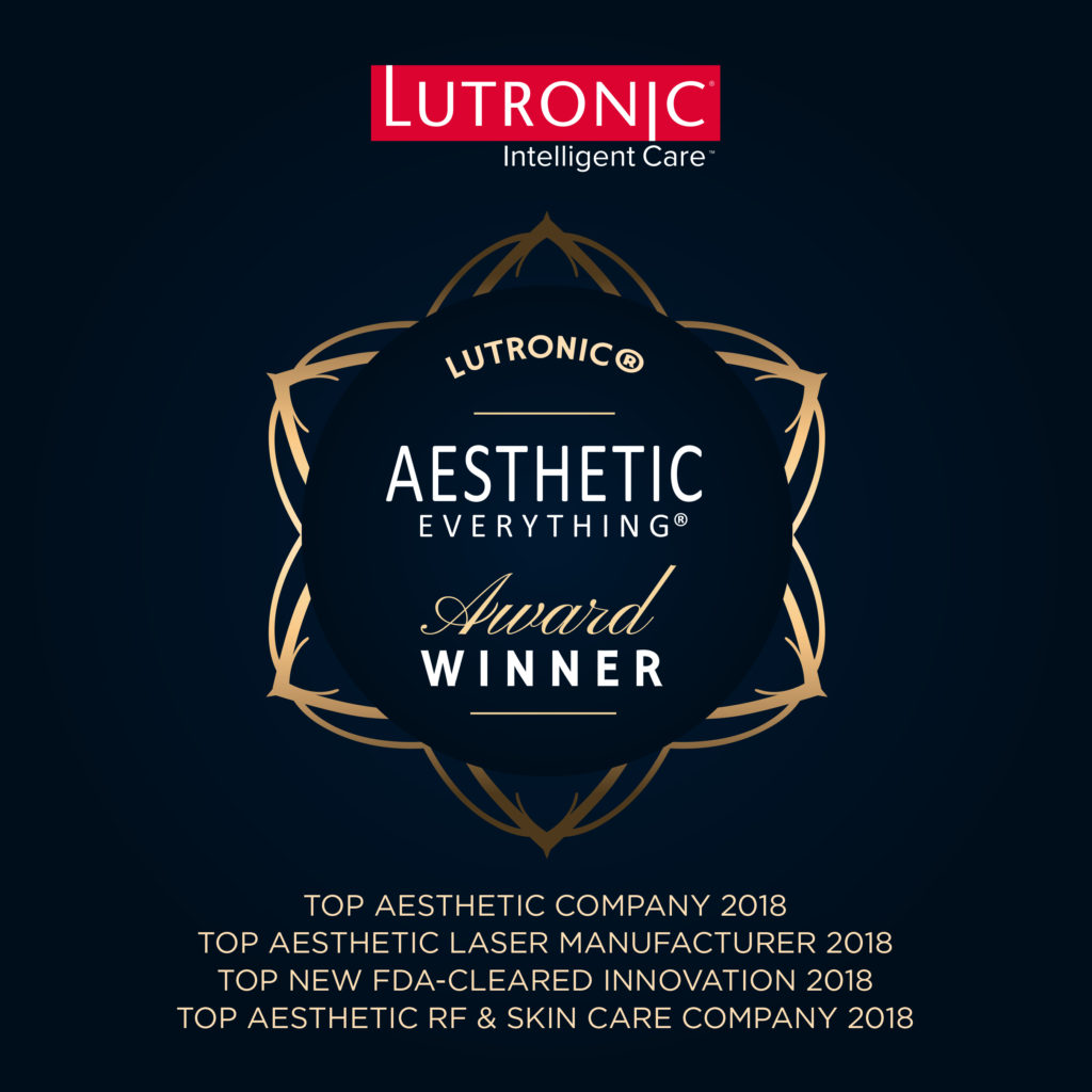 PRESS RELEASE: Lutronic Obliterates the Competition in 2018 Aesthetic Everything® Awards with Top Honors in 8 Categories