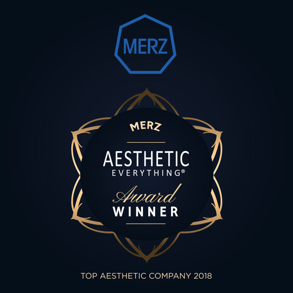 PRESS RELEASE: Merz Dominates 2018 Aesthetic Everything® Awards with Top Honors in 15 Categories
