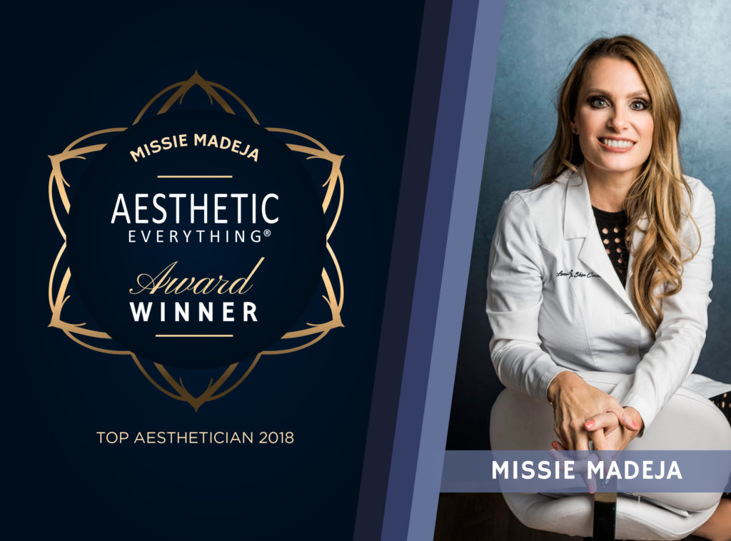 PRESS RELEASE: Missie Madeja of Laser Skin Couture Receives Top Aesthetician Award in the 2018 Aesthetic Everything® Awards