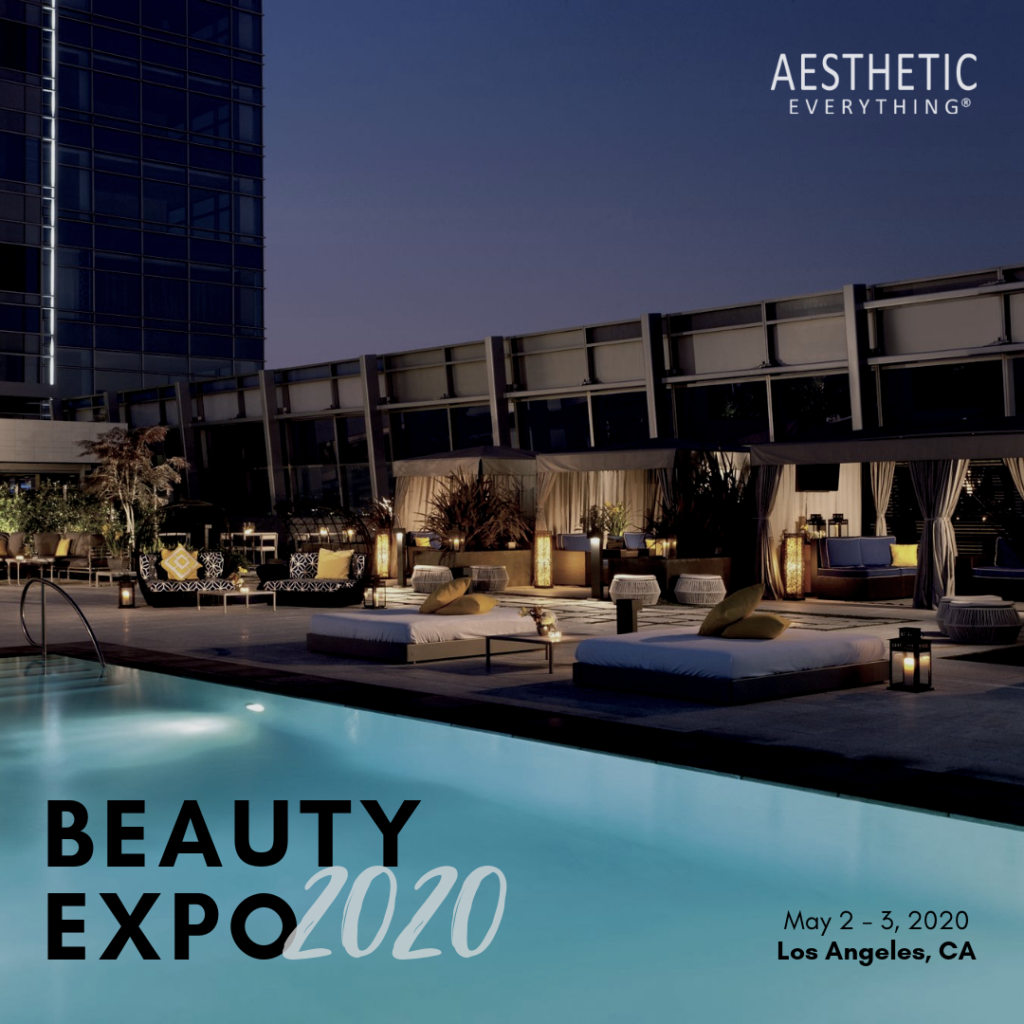 Announcing: Aesthetic Everything Beauty Expo 2020, May 2nd-3rd 2020, Los Angeles, CA