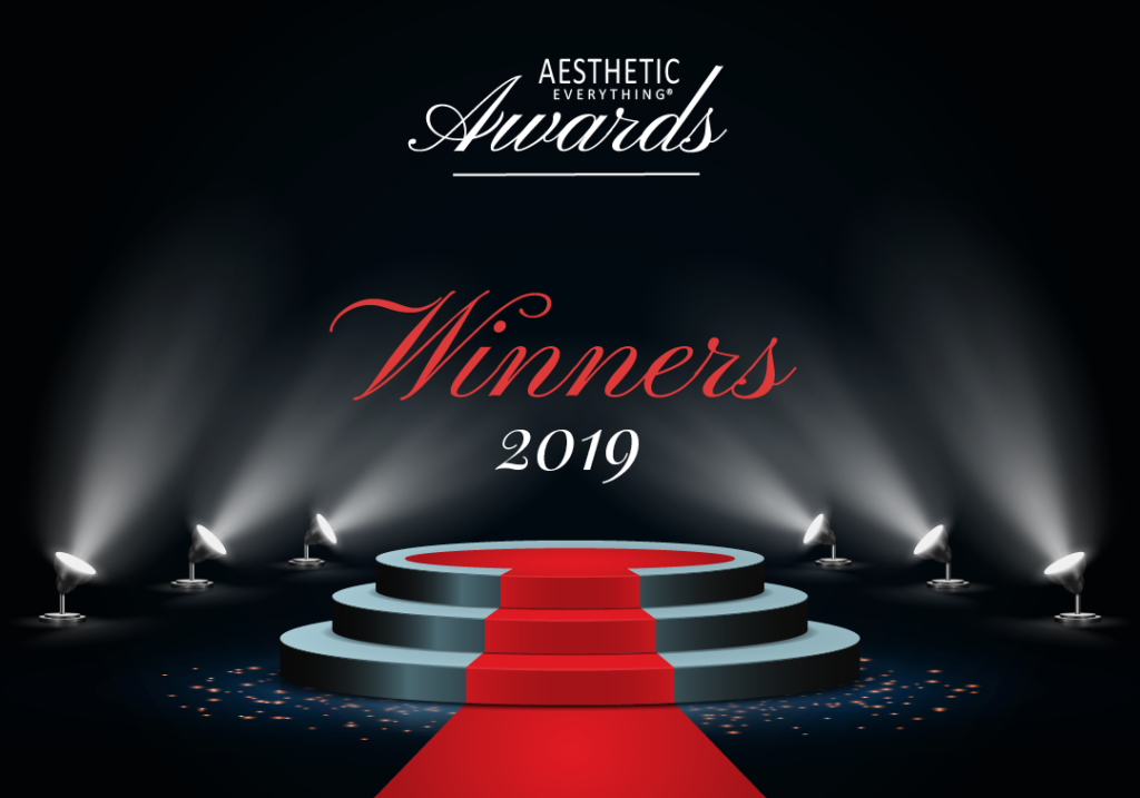 THE LIST IS OUT! Congratulations! Announcing 2019 Aesthetic Everything® Award Winners!
