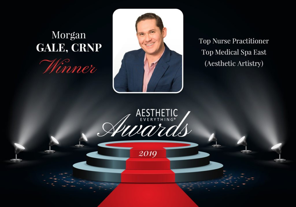 "Morgan Gale, CRNP Receives ""Top Aesthetic Nurse Practitioner"" in the Aesthetic Everything® 2019 Aesthetic and Cosmetic Medicine Awards"