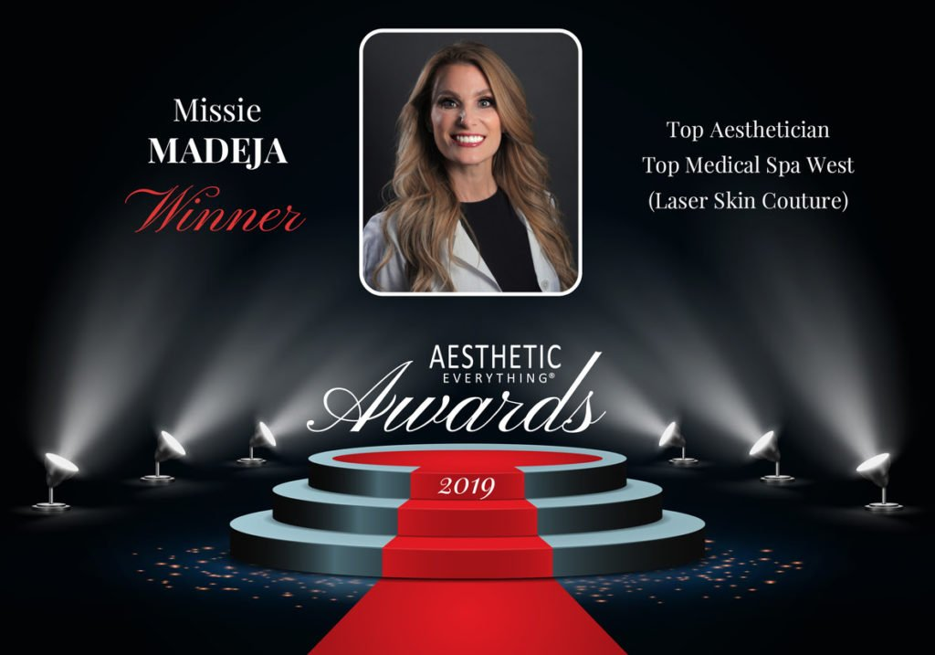Missie Madeja of Laser Skin Couture Receives Top Aesthetician Award the second year in a row for Aesthetic Everything® Awards 2019