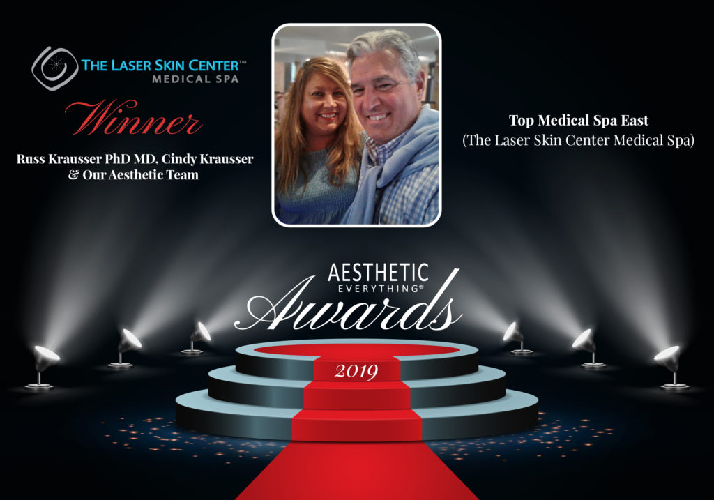"The Laser Skin Center Medical Spa Receives ""Top Medical Spa East"" in the 2019 Aesthetic Everything® Aesthetic and Cosmetic Medicine Awards"
