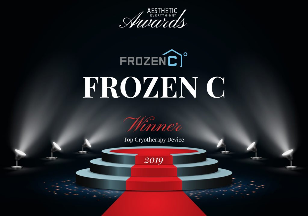 FROZEN C to Receive Prestigious Award at the 2019 Aesthetic Everything® Aesthetic and Cosmetic Medicine Awards